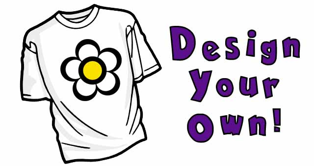 design your own tshirt party