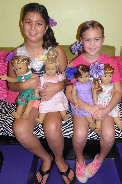 girls and dolls makeovers